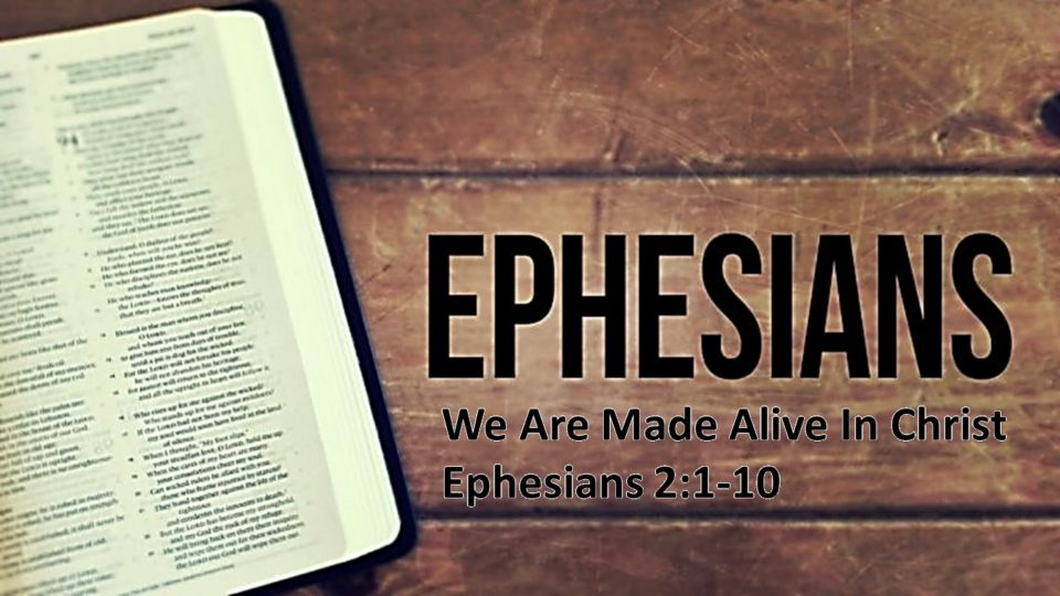 We Are Made Alive In Christ